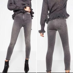 Zara Vintage Hi-rise Skinny Jeans